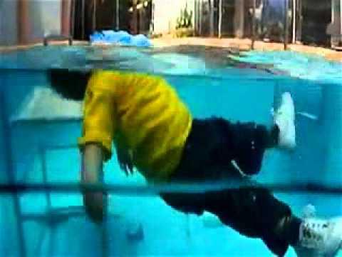 Baby Pool Accident