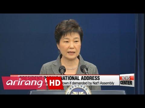 Pres. Park's Third Nat'l Address: On-set interview Hankuk Univ. of Foreign Studies Prof. of Law...