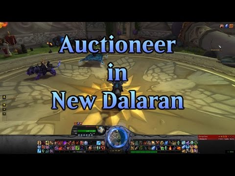 Where is the Auction House in Dalaran (Legion)?
