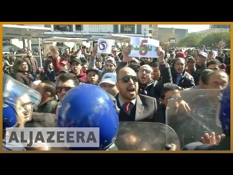 🇩🇿 Algeria protests: Students rally against president | Al Jazeera English