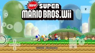 Descargar new súper Mario bro wii para android