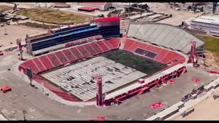 Evolución Estadio Caliente - Club Tjuana LigaMx