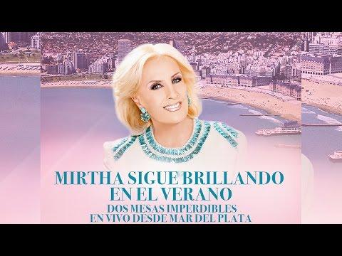 ¡Mirtha sigue brillando en Mar del Plata!