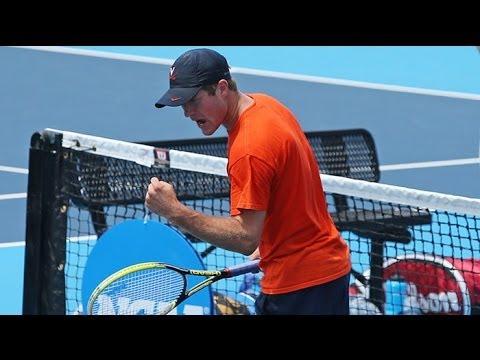 CUE: Men's Tennis - Mitchell Frank