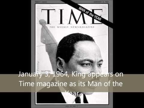 Martin Luther King Jr Brief Timeline