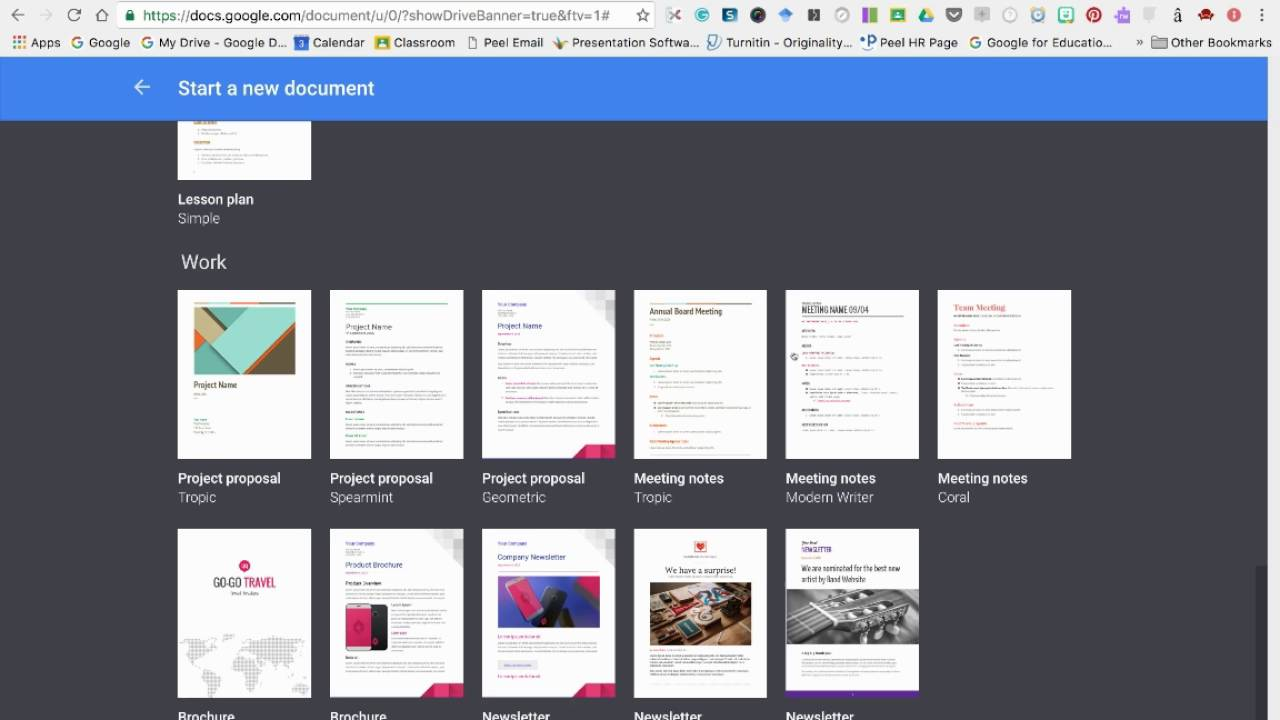 Google Docs Templates - YouTube