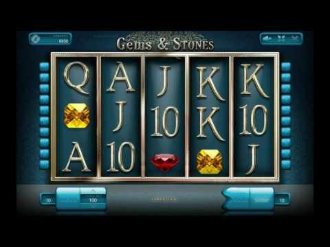 Как играть в игровой автомат Gems And Stones. Обучающее видео.