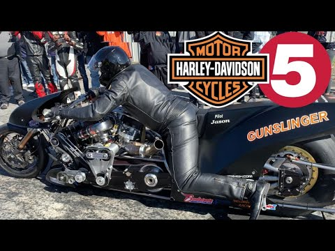 FIRST FIVE-SECOND V-TWIN NITRO HARLEY? IN DEPTH FEATURE OF HISTORIC MUST-SEE SUPERCHARGED DRAG BIKES