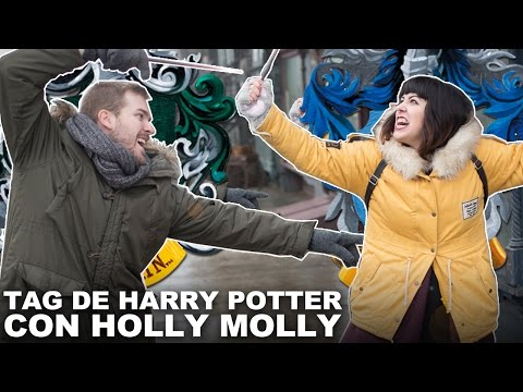 TAG DE HARRY POTTER feat. HOLLY MOLLY | Javier Ruescas