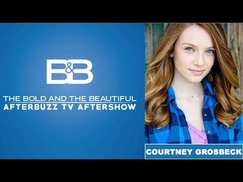 Bold & The Beautiful | Courtney Grosbeck Interview | AfterBuzz TV