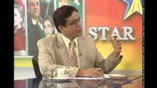 general Naseer Akhtar , Raja zulqarnain advocate & Ijaz Ahmed khan mpa with Ahsan zia in Studio one Star Asia,Punjab Tv  part 006