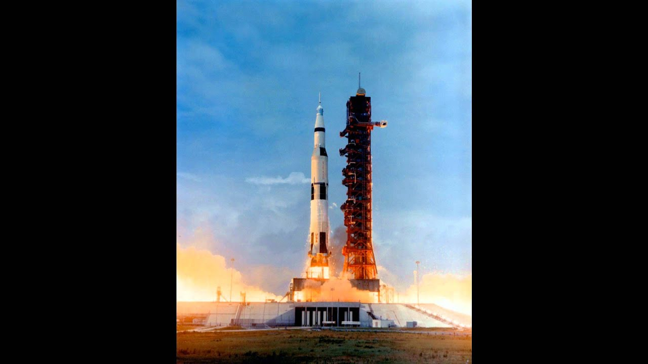 the launching of apollo 11 Apollo 11 was launched atop a saturn v rocket from cape kennedy the original  launch time was set for 6 am eastern standard time (tos: tomorrow is.