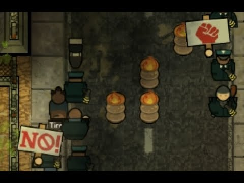 STAFF STRIKE! Let's play: Prison Architect 2.0