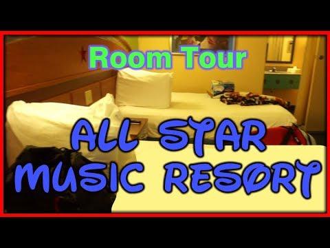 All Star Music Resort Standard Room Tour