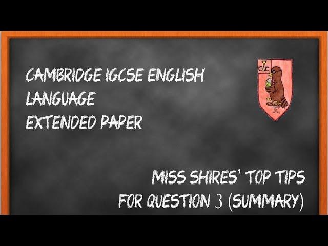 english analysis techniques