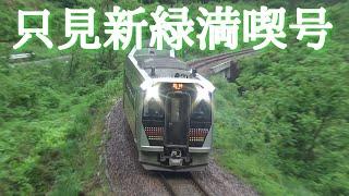 只見線 GV-E400系臨時快速 只見新緑満喫号 通過集 /Japanese Diesel Train GV-E400Series Tadami Line Extra Rapid