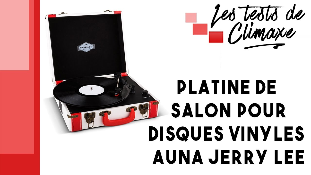 test d 39 une platine vinyle auna jerry lee lecture disques vinyle 33 tours 45 tours et 78 tours. Black Bedroom Furniture Sets. Home Design Ideas