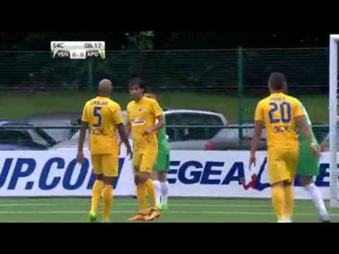 UEFA Champions League - The New Saints (WAL) vs APOEL Nicosia (CYP) 12/07/2016 Full