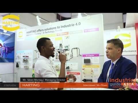 Interview: HARTING - Manufacturing Expo 2017 - Industrial Guide Asia