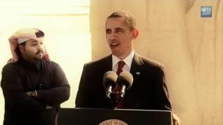 تركيب: الرجل خلف أوباما