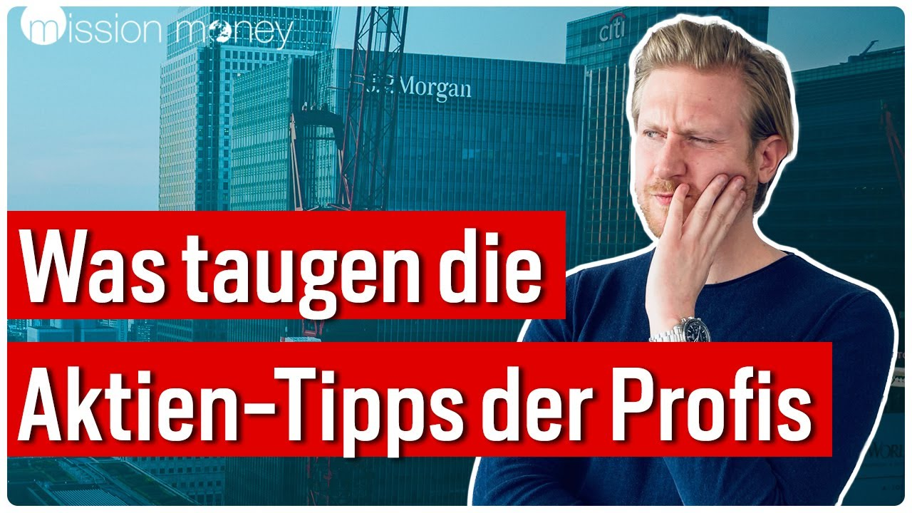 Exklusive Studie: Das sind die Top Picks von JP Morgan // Mission Money