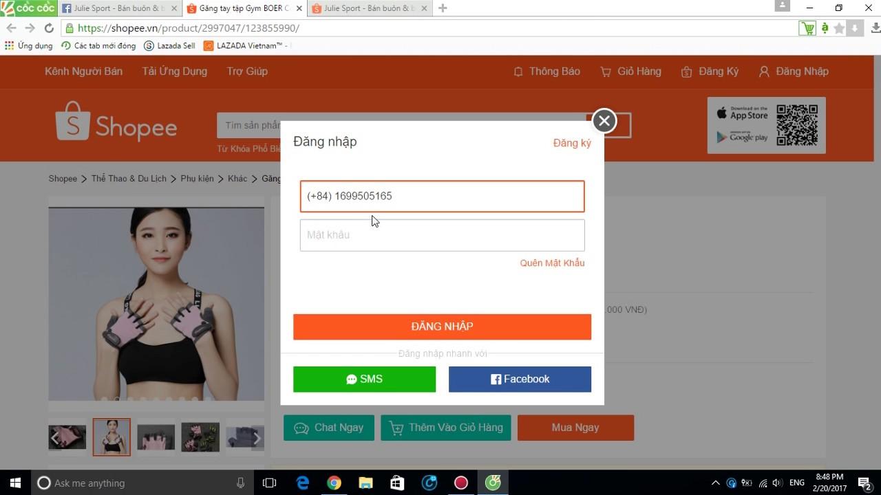Cách đặt hàng giao hàng miễn phí trên Shopee