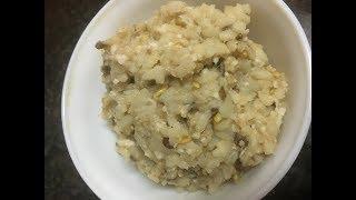 Urid Dal Rice / Ulundhu Saadham - Traditional recipe!!