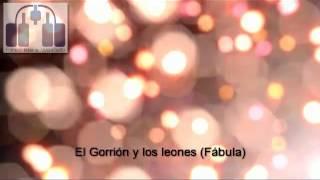 #reflexión El gorrioncillo y los leones (Fábula) #Motivación