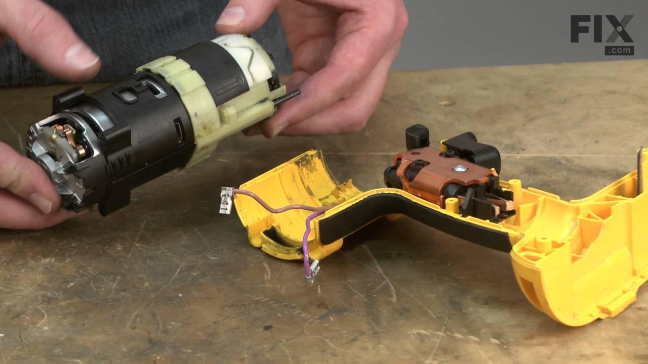 DeWALT Hammer Drill Repair – How to replace the Motor