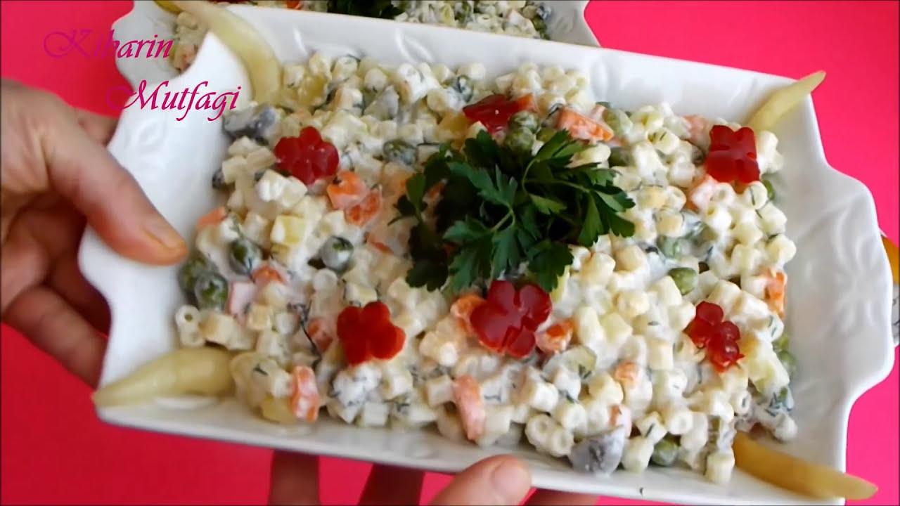Pratik Makarna Salatası Nasıl Yapılır ? - İdil Yazar - Yemek Tarifleri
