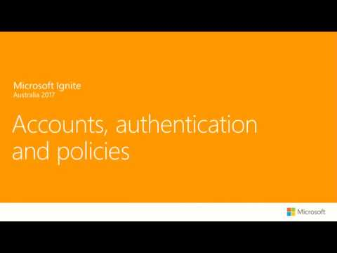 Australia 2017 Building Consumer Apps with Azure Active Directory B2C