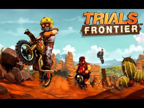 "Trials Frontier ""Motor Racing Games"" Android Gameplay Video"