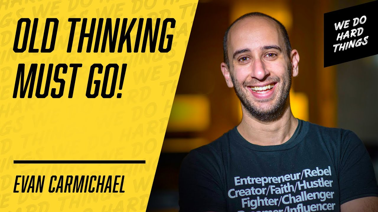 Your LACK Of PURPOSE Is KILLING Your PROGRESS | Evan Carmichael on The We Do Hard Things Podcast