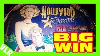 HOLLYWOOD DREAMS - BIG WIN - MAX BET Slot Machine Bonus