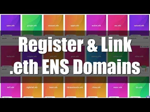 How to Register .eth ENS Ethereum Domain Names
