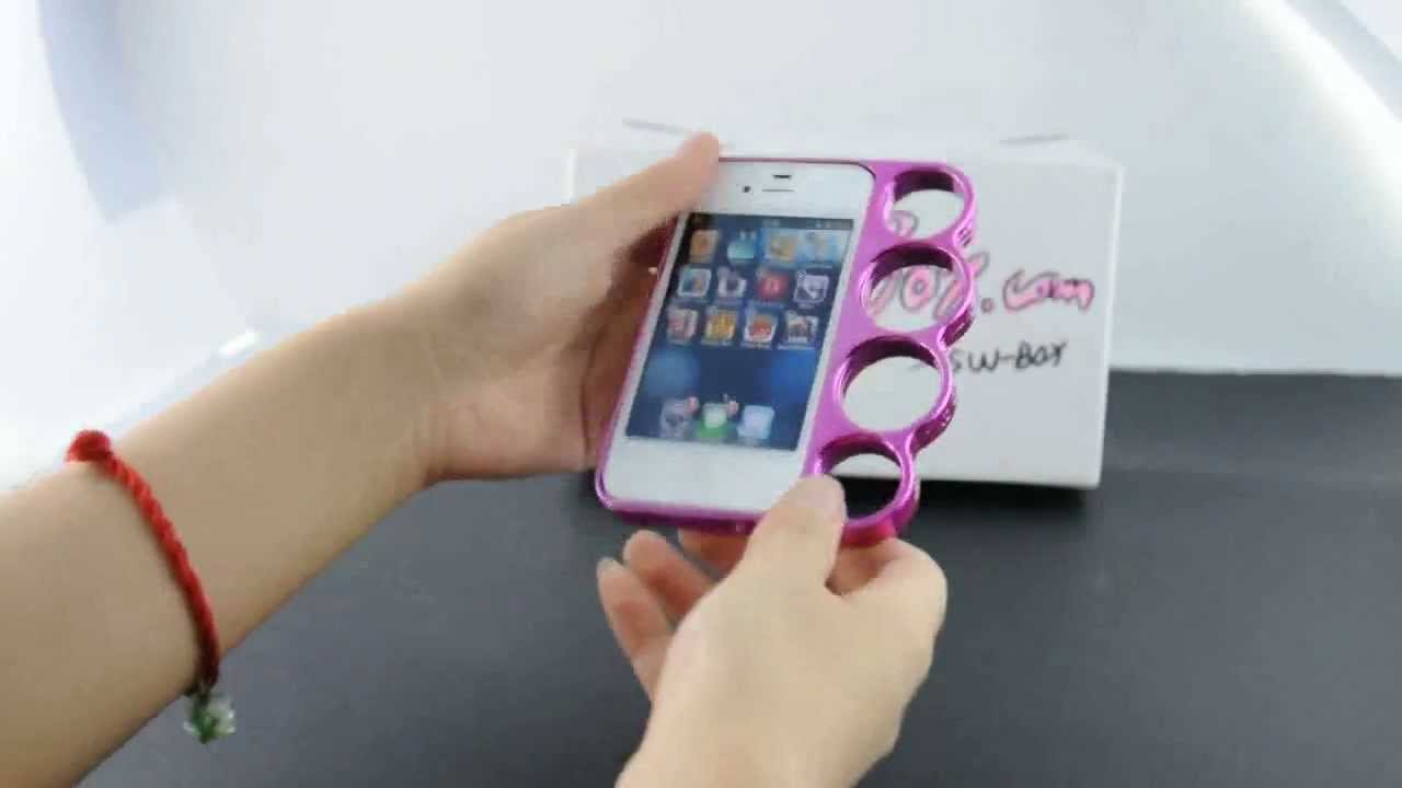 Cool IPhone 4S ABS Hard Bumper Case W Holder For Girls