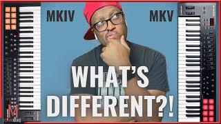 M-Audio Oxygen MKIV Vs M-Audio Oxygen MKV