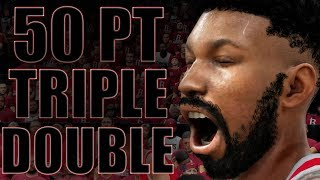 INSANE 50 POINT TRIPLE-DOUBLE IN PLAYOFF GAME 5! NBA 2K18 My Career Gameplay Ep. 30