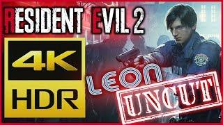[4K HDR) Resident Evil 2 REMAKE ► LEON S. KENNEDY ► PS4PRO 60FPS
