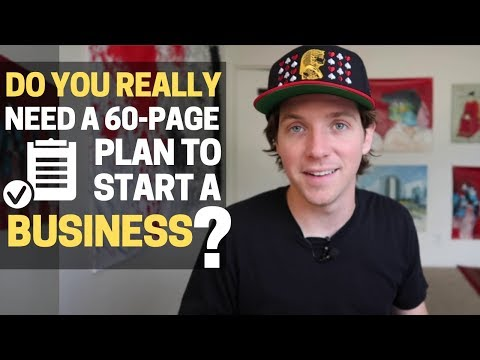 [Free Download] The One-Page Business Plan That I Use For Starting Any Business