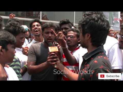 may 1 Ajith Kumar Birthday 2018 Thala Veriyans | Rasigargal Wishes and Speech @ Rohini Cinemas