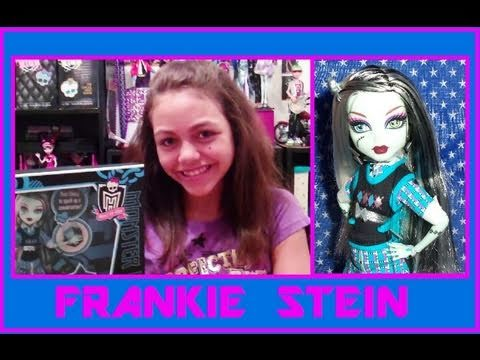 Monster High Frankie Stein Basic Wave 2 or School's Out Review