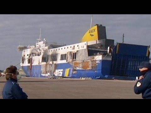 Probe ongoing into Norman Atlantic ferry fire - no comment