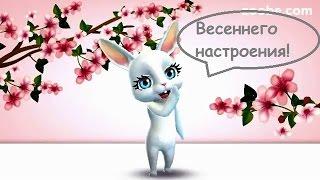 Zoobe Зайка Весна в самом разгаре! Хорошего тебе настроения!