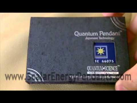 Scalar Energy Pendant Video Close up in Box