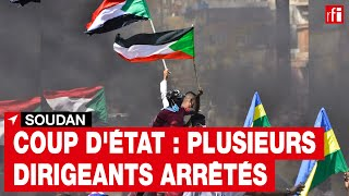 Soudan: l'ombre d'un coup d'État, plusieurs responsables de l'exécutif arrêtés • RFI screenshot 3