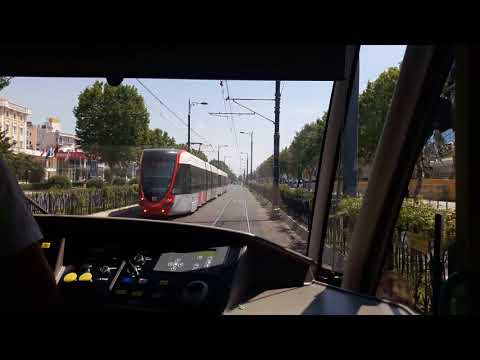 Istanbul tram - from Zeytinburnu to Sultanahmet 02