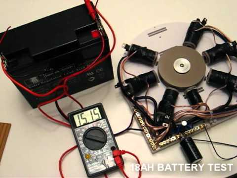 ... bedini adams magnetic pulse motor generator !!! Fast !!! - YouTube