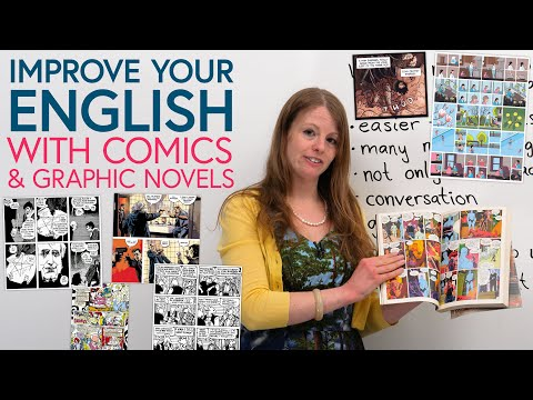 Improve Your English With COMICS & GRAPHIC NOVELS