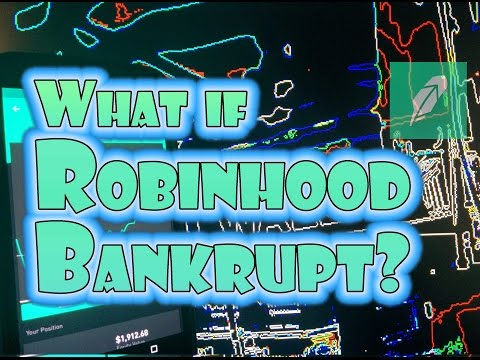 Robinhood APP - What happens if my stock broker goes BANKRUPT?